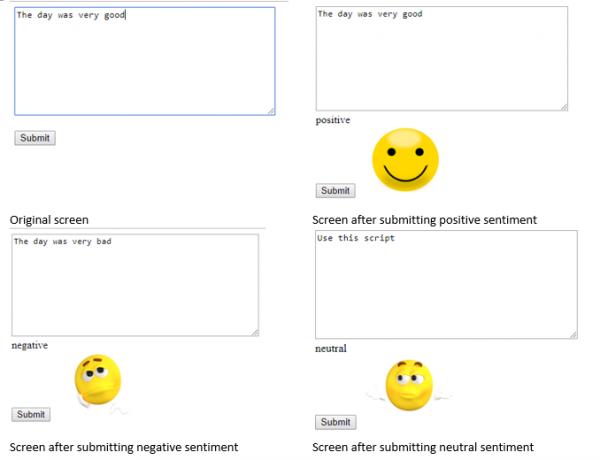Integrating Sentiment Analysis API Python Django into Web